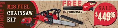 Milwaukee Chainsaw Kit