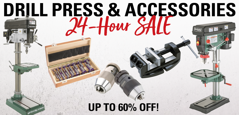 24 Hour Drill Press