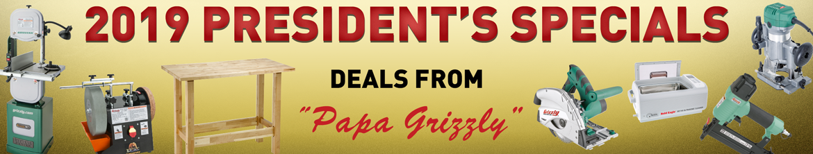 2019 Presidents Specials