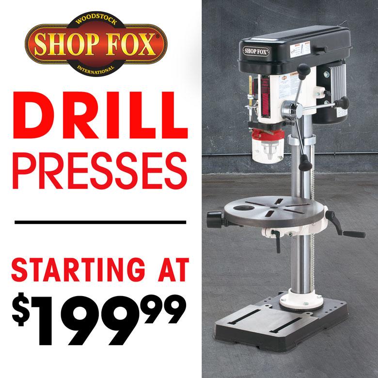 Drill Press Shop Fox NO SALE