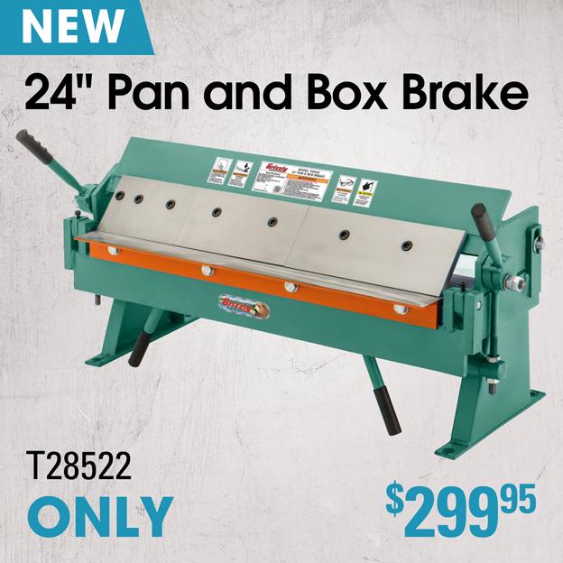 T28522 Pan \u0026 Box Brake