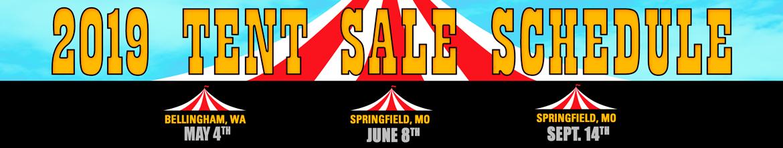 Tent Sales 2019