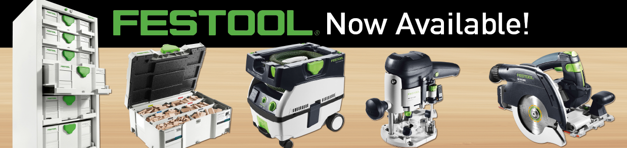 Festool Now Available (mobile)